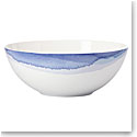 Lenox Indigo Wtrclr Stripe Dinnerware Serving Bowl