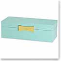 Lenox kate spade Outpost Gifting Lg Rect Jewelry Box, Turquoise