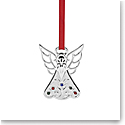 Lenox 2019 Jeweled Silver Angel Ornament