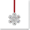 Lenox Jeweled Silver Snowflake Ornament