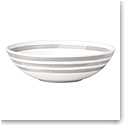 Kate Spade China by Lenox, Charlotte St Grey Ind Pasta Bowl
