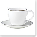 Lenox Continental Dining Platinum Dinnerware Tea Cup And Saucer