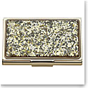 Lenox kate spade new york Simply Sparkling Gold Glitter Business Card Holder