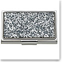 Lenox kate spade new york Simply Sparkling Silver Glitter Business Card Holder