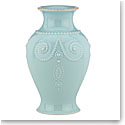Lenox French Perle Ice Blue Bouquet Vase 8""