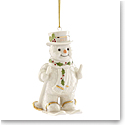 Lenox Annual 2017 Happy Holly Days Fresh Powder Snowman Ornament