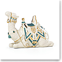 Lenox First Blessing Nativity Laying Camel, Teal Cloth