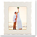"Lenox French Perle White 8X10"" Picture Frame"