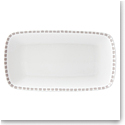 Kate Spade China by Lenox, Charlotte St Grey Hors D'Oeuvres Tray