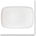 Kate Spade China by Lenox, Charlotte St Grey Oblong Platter