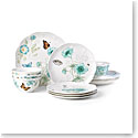 Lenox Butterfly Meadow Turquoise Dinnerware Pair