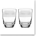 Lenox kate spade, York Avenue Crystal DOF Tumbler, Pair