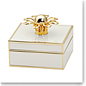 Kate Spade New York, Lenox Keaton St Metal Jewelry Box Cream