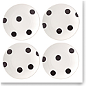 Kate Spade China by Lenox, Deco Dot Tidbits Plates, Set Of Four