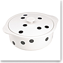 Kate Spade China by Lenox, Deco Dot Cvrd Casserole, Hot Stuff