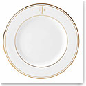 Lenox China Federal Gold Monogram Block Salad Plate J