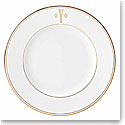 Lenox China Federal Gold Monogram Block Salad Plate Y