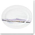 "Lenox Winter Radiance Dinnerware Oval Platter 16"""