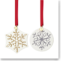 Lenox Kate Spade Jingle All the Way Ornaments, Set of Two