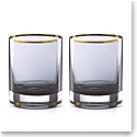 Lenox kate spade, South Street Crystal DOF Tumbler, Pair