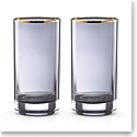 Kate Spade New York, Lenox South Street Crystal Highball, Pair