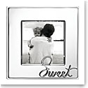"Lenox Kate Spade In A Word Sweet 3x3"" Frame"