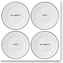 Kate Spade China by Lenox, York Avenue Accent Tidbits Set Of Four