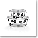 Kate Spade New York, Lenox Deco Dot Round Dish With Lid Set Of Four