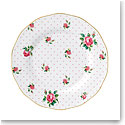 Royal Albert China New Country Roses Cheeky Pink Vintage Salad Plate, Single