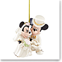 Lenox 2021 Disney Minnie's Dream Wedding Ornament