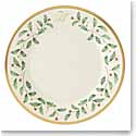 Lenox Holiday Monogram Salad Plate H