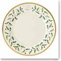 Lenox Holiday Monogram Salad Plate L