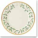 Lenox Holiday Monogram Salad Plate W