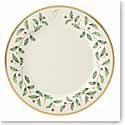 Lenox Holiday Monogram Dinner Plate G