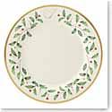 Lenox Holiday Monogram Dinner Plate I