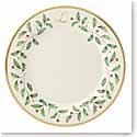 Lenox Holiday Monogram Dinner Plate L