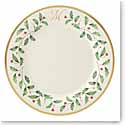 Lenox Holiday Monogram Dinner Plate M