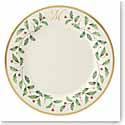 Lenox Holiday Monogram Dinner Plate M