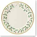 Lenox Holiday Monogram Dinner Plate P