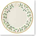 Lenox Holiday Monogram Dinner Plate Q