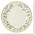 Lenox Holiday Monogram Dinner Plate R