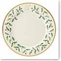 Lenox Holiday Monogram Dinner Plate S