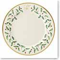 Lenox Holiday Monogram Dinner Plate U