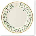 Lenox Holiday Monogram Dinner Plate Y