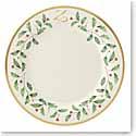 Lenox Holiday Monogram Dinner Plate Z