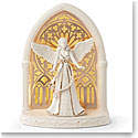 Lenox China Lit Angel Christmas Scene