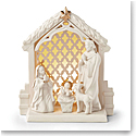 Lenox China 2018 Lit Nativity Christmas Scene