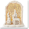 Lenox China Lit Woodland Christmas Scene