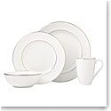 Lenox Continental Dining Gold Dinnerware 4 Piece Place Setting