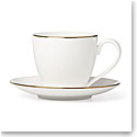 Lenox Continental Dining Gold Dinnerware Tea Cup Sauce